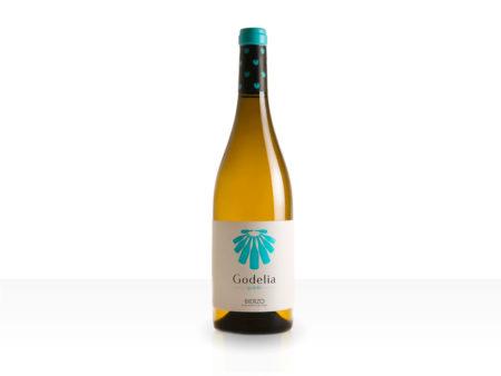 Botella de vino blanco Godelia Godello