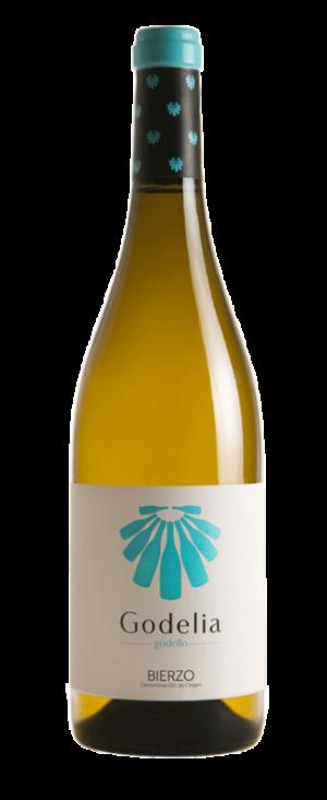 Botella de vino Godelia Godello