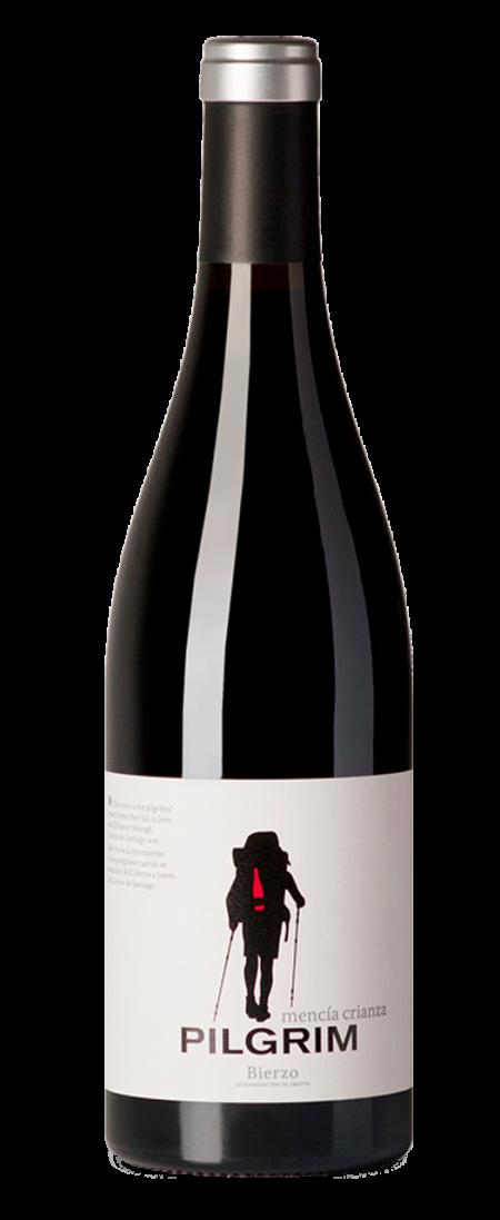 Botella de vino Pilgrim Mencía Crianza