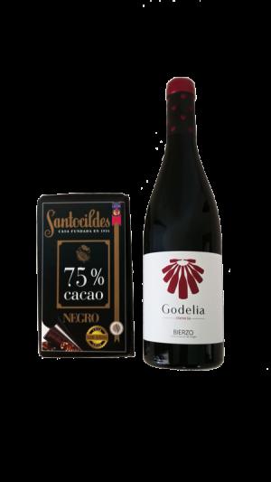 Cata Godelia Mencía y Chocolate Negro